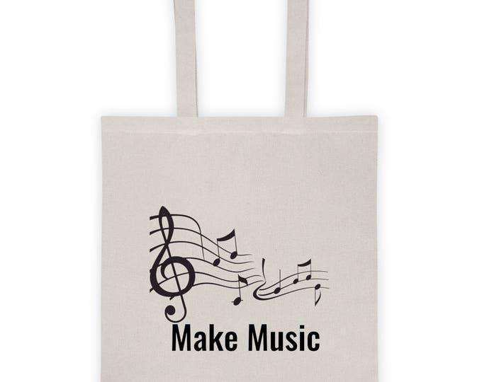 "Tote Bag ""Make Music"""