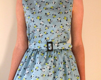 1950s style day dress