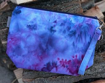 Hand Dyed - OOAK - Medium Watercolor Bag #3
