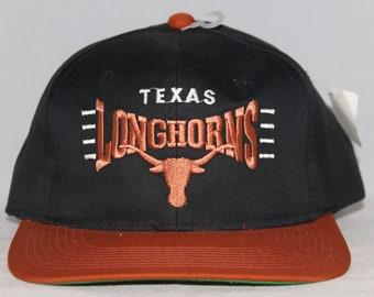 Vintage Deadstock Texas Longhorns Snapback Hat