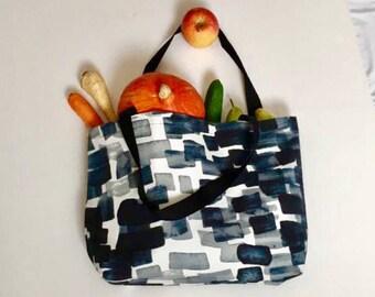 Big Zero Waste Shopping Bag / Shopper for Zero Waste Shopping / Bulk Shopping Kit