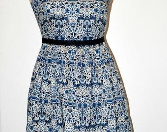 Rita Liberty print dress size 12UK or made to measure