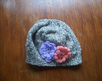 Cloche Hat Hand knitted