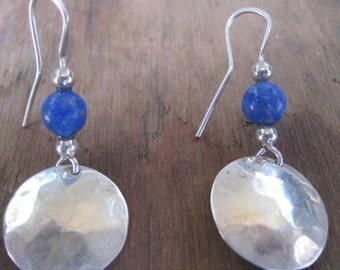 Sterling & Lapis Earrings