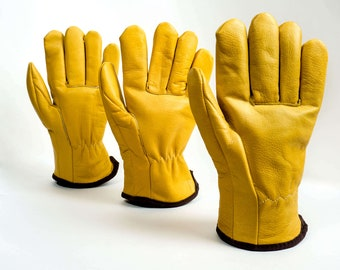 Ambiable Gloves is a versatile premium leather glove, great utility projects. garden, tree timing, welding and everyday projects.
