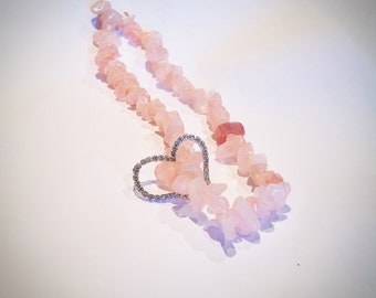 Rose Quartz made here on Maui Hawaii