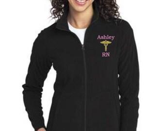 Jackets - Nurse Job Womens Fleece Jacket