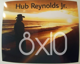 Hub Reynolds Jr. 8x10 autographed photo