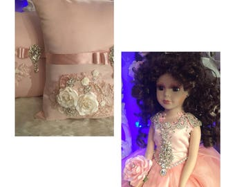 Special offer! Doll and pillows