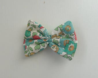 Barrette / hair clip turquoise bertsy liberty