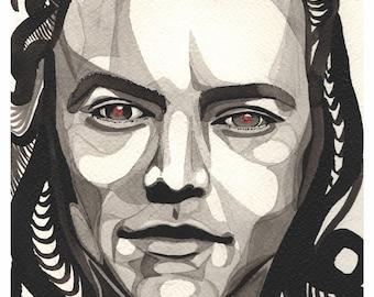 Harry Styles *Golden Boy* - Art Print