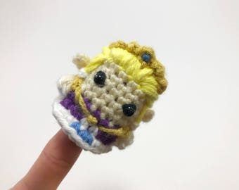 Marionnette à doigt au crochet de Zelda The Legend of Zelda