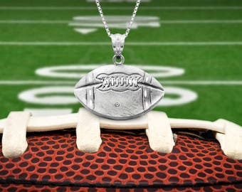 Football Necklace Pendant