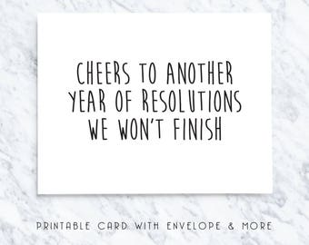 new years card, new years download, happy new years, new years greetings, funny new years, sarcastic new years, silly new years