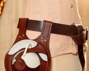The Parisian Steampunk Teacup Holster in Brown