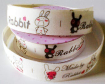 cotton tape Ribbon: made by rabbit