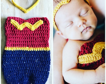 Wonder Woman Baby Cocoon