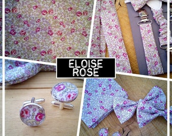 """ELOISE Rose"" bow tie adult teen child baby collection"