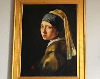 Vermeer hand painted reproductions