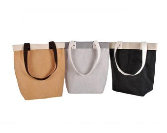 Washable cellulose Fiber Tote bag Rome