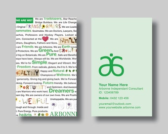 Arbonne design Etsy