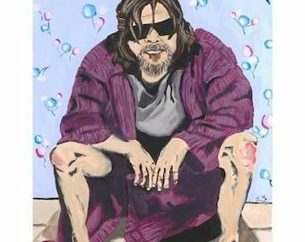 "Art Print ""The Dude""  14x16.5"