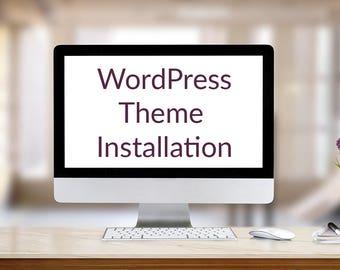 WordPress Theme Installation