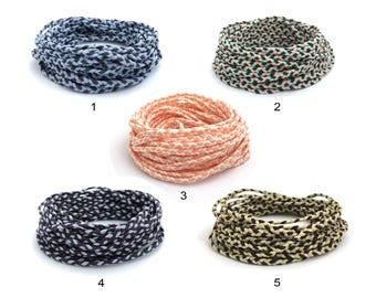Friendship Bracelet Cord, Braided String, Macrame Cord, Handmade, Jewelry Making Cord, Wholesale Cording, 5 Colors