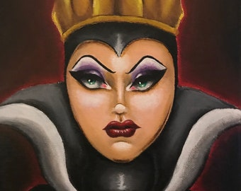 Evil Queen Painting by Lacey Noel