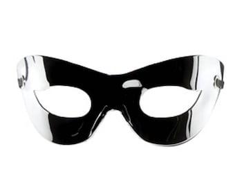 Metallic Mirror Mask
