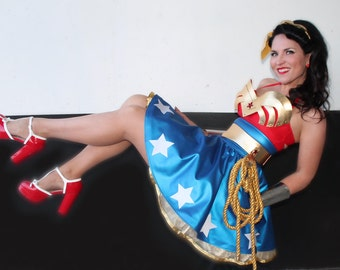 PIN-UP Wonder Woman Costume DELUXE