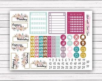 Sparkle Life add-on stickers || Erin Condren planner vertical layout