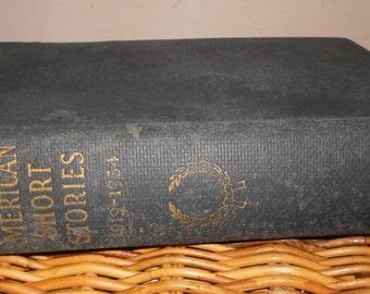 1930s Vintage book Great American Stories O. Henry Memorial Award 1919 - 1934