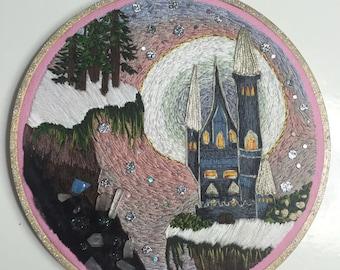 "6"" OOAK Fantasy Castle"