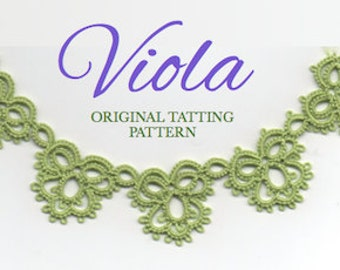 Viola - TATTING PATTERN