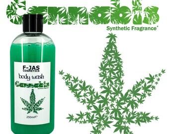 Cannabis Scent Body Wash / Shower Gel 250ml