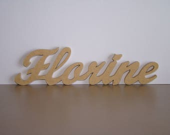 Names 7 letters to chose from: 5 cm approx decorate wooden