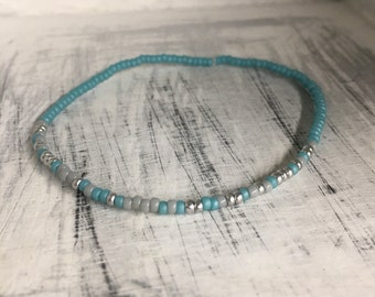 Prove Them Wrong, Morse Code Stretchy Bead Bracelet - Pick your color