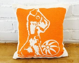 Bruiser 10in Kiddo Pillows in Orange
