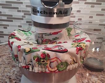 Kitchenaid Bowl Cover/ 1950's kitchen