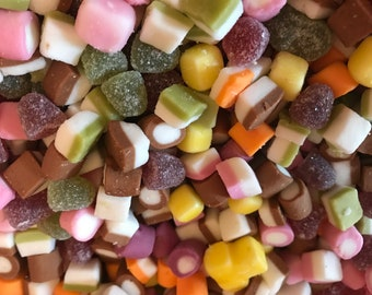 100 grams of sweets