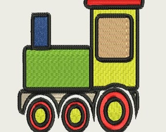 TOY TRAIN 4X4 embroidery file