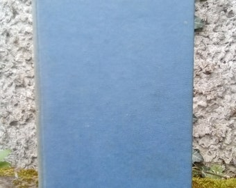 Simone de Beauvoir, first edition, Memoirs of a Dutiful Daughter. First edition, 1959, blue vintage book.