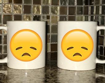 Mug - Disappointed Emoji
