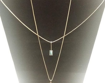 On Sale Two Sterling Necklaces