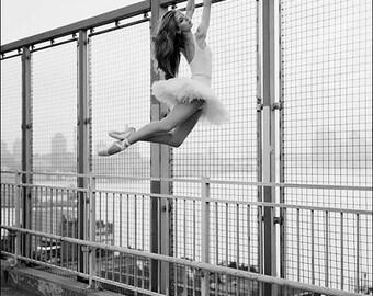 Ballerina Project limited edition print: Violeta - Williamsburg Bridge (16x20) #14 of 20