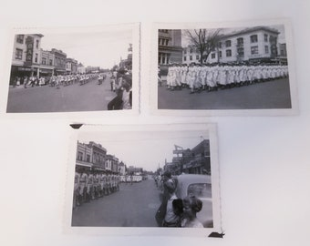 Vintage black and white Air Force downtown Cheyenne Wyoming, soldiers,ephemera,scrapbooking, WAF