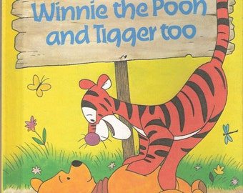 Winnie the Pooh and Tigger too Vintage Disneys Wonderful World of Reading Book Illustrated