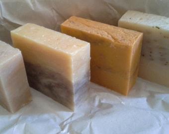 Handcrafted Organic Vegan Soap Bar ~ Choose Scent - Large 5 ounce bar -  Artisan Soap Bar Gift