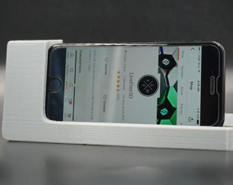 iPhone 6 7 8 Plus and non Plus Alarm Clock Style Horizontal Charging Dock 3D Printed